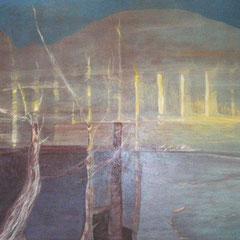 lumière d'automne - 114 x 82 cm