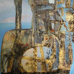amphora spatiale 60 x 92 cm