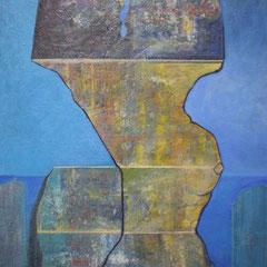 méditerranée - 90 x 65 cm