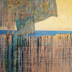 pensée-oiseau 84 x 66