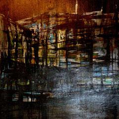 cité de nuit - 82 x 61 cm