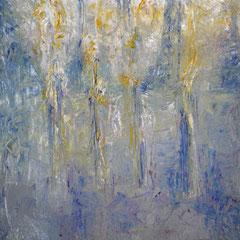 herbe sèche - 56 x 47 cm