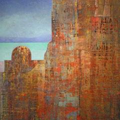 château en Espagne 67 x 94 cm