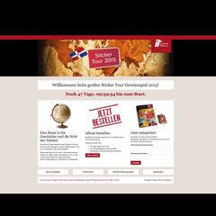 "Landingpage für Kundenpromotion B2B ""Imperial Tobacco Austria"""