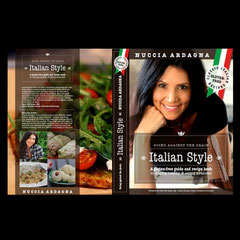 "Buchcover ""Italian Style"""