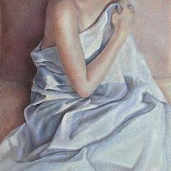 Format 90X60 pastel sur toile