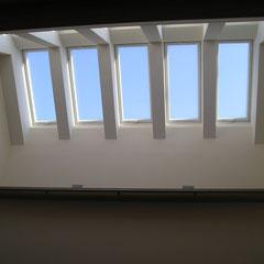 Dachflächenfenster Gipskartonverkleidung
