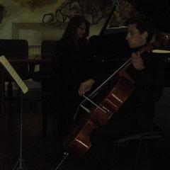 Luca Colardo, violoncello - Sandra Conte, pianoforte