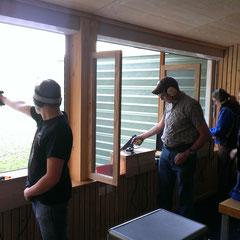 Pistolenschützen beim Training