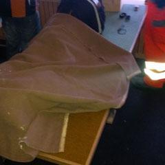 auch Decken wurden mobilisiert, es war sooo kaaalt!