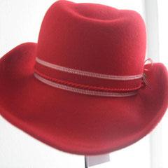 Trachten Cowboyhut rot