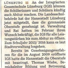 Hamburger Abendblatt 13.Mai 2103