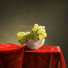 """Rosso"" olio su tela cm 45 x 60 anno 2010"
