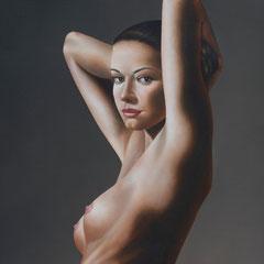 """""""Certezze"""" - olio su tela cm 70 x 50,5 anno 2007"""
