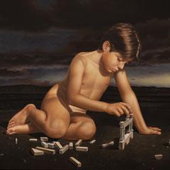"""""""1908"""" - olio su tela cm 100 x 120 anno 2012"""