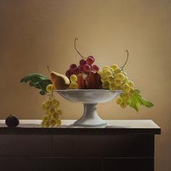 Sontuosamente, olio su tela cm. 85,5 x 64,5 anno 2006