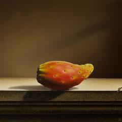 """""""Sempre più fico"""" - olio su tela cm 30 x 40 anno 2011"""