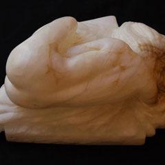 Abbandono- alabastro cm 22 x 32 h 12