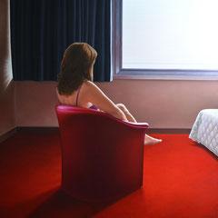 """""""A NEW DAY"""" - olio su tela cm 100 x 100 anno 2013"""