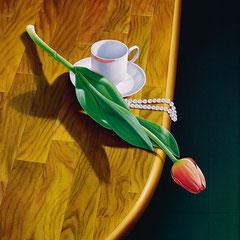 """""""Nuove prospettive"""" - olio su tela cm 46 x 54 anno 2003"""