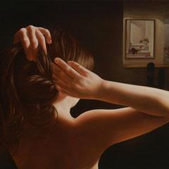 """""""Luci e ombre""""  - olio su tela cm  41 x 54 anno 2009"""