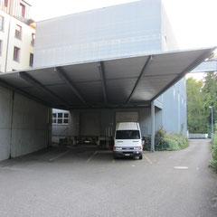 Vordach Industriegebäude