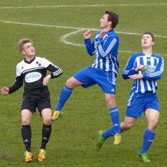 A-Jgd.Heider SV - Büdelsdorfer TSV 1:1   (1 :1) 15. Pktsp. Saison 2013/14