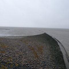 Das Eidersperrwerk ☆ Das Eidersperrwerk befindet sich an der Mündung der Eider in die Nordsee bei Tönning in Schleswig-Holstein.