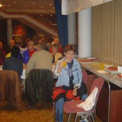 Unsere 1. Pasta Party vor dem Paderborner Osterlauf 2005