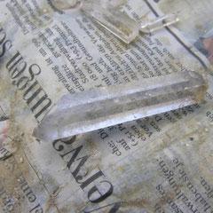 Auch kleine Kristalle faszinieren - besonders wenn sie selber gefunden sind