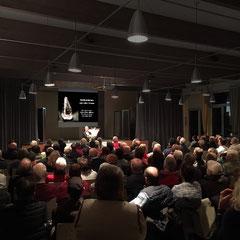 Vortragssaal im GZ-Riesbach in Zürich-Seefeld