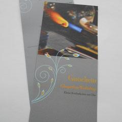 Gutschein für einen Glasperlenworkshop