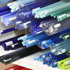 Glasstangen zum Drehen von Glasperlen