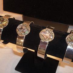 Bracelets Nacre et pyrite