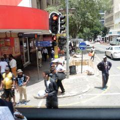 In der Stadt Johannesburg