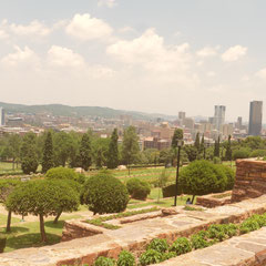 Park vor den Union Buildings