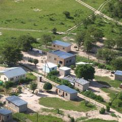 ein Dorf in mitten des Delta's