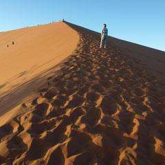 Zeit hinab zu steigen - denn die Wüste ruft