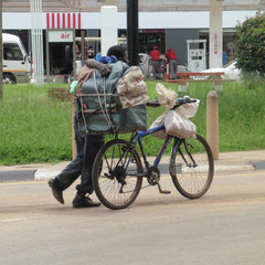 Transportmittel in Simbabwe - so ....