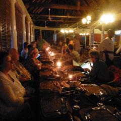 Dinner im Hotel Victoria