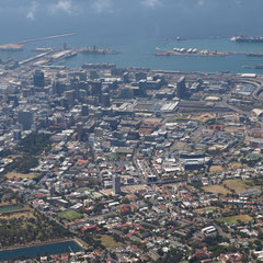 und dann liegt uns Kapstadt zu Füssen