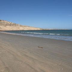 der Achat-Strand
