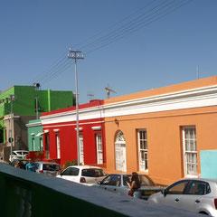 Bo-Kap, das farbenfrohe Quartier ....