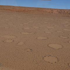 Namib Wüste aus der Vogelschau