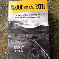 Book cover design, Harvey Tyson Writing Inc.