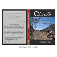 Free-lance graphic design and layout, Circling the Great Karoo