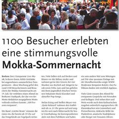 Mokka-Sommernacht in Borken