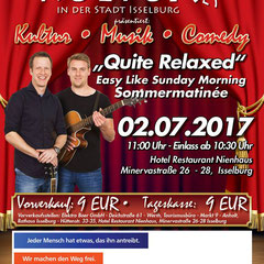 """Easy like Sunday morning"" - Sommermatinée des Kulturings Isselburg"