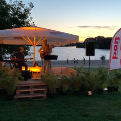 """""""Aasee-Sunsets"""" in Bocholt"""