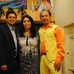 Pastores: Nemias y Gloria Hernandez con Eusebio Cortes
